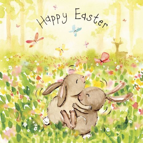 Cute Easter Cards. Spring Seasons Cards. Cards For Easter. Animal Cards. Twizler.